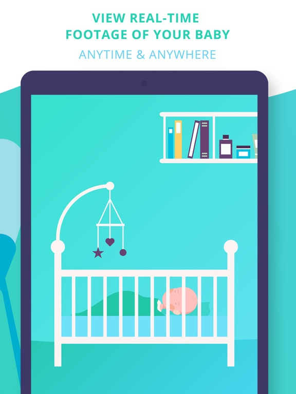 Baby Monitor Lite: Turn your device into a video surveillance system for your toddlers screenshot