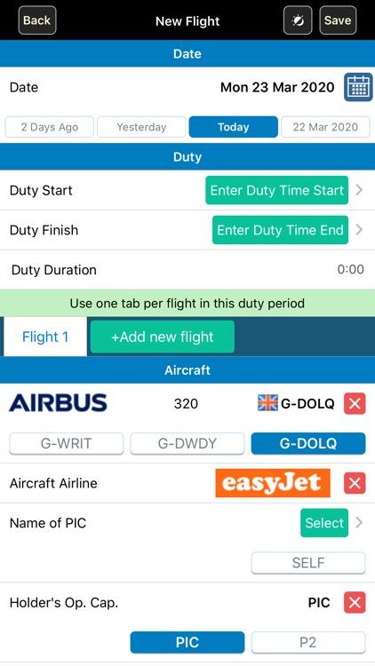 Safelog Pilot Logbook screenshot-3