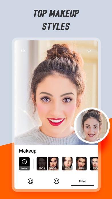 InCam-Cutout,Makeup,Cartoonize screenshot 2