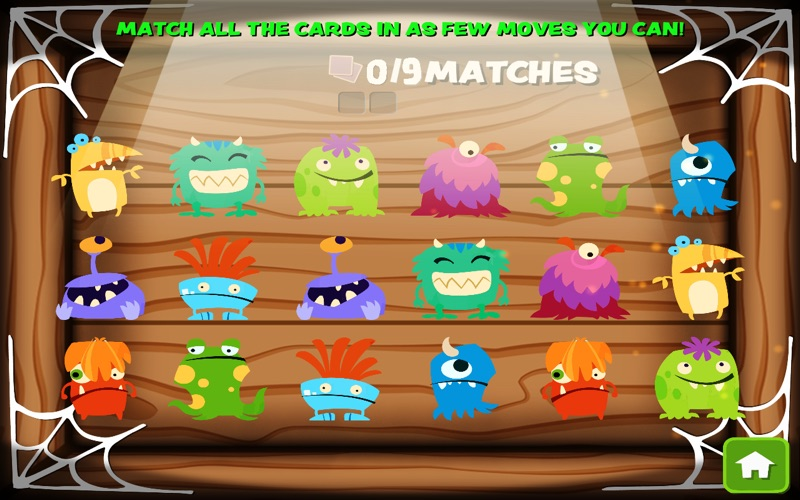 Halloween Monster Match screenshot 2