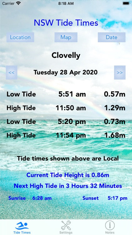 NSW Tide Times screenshot-2