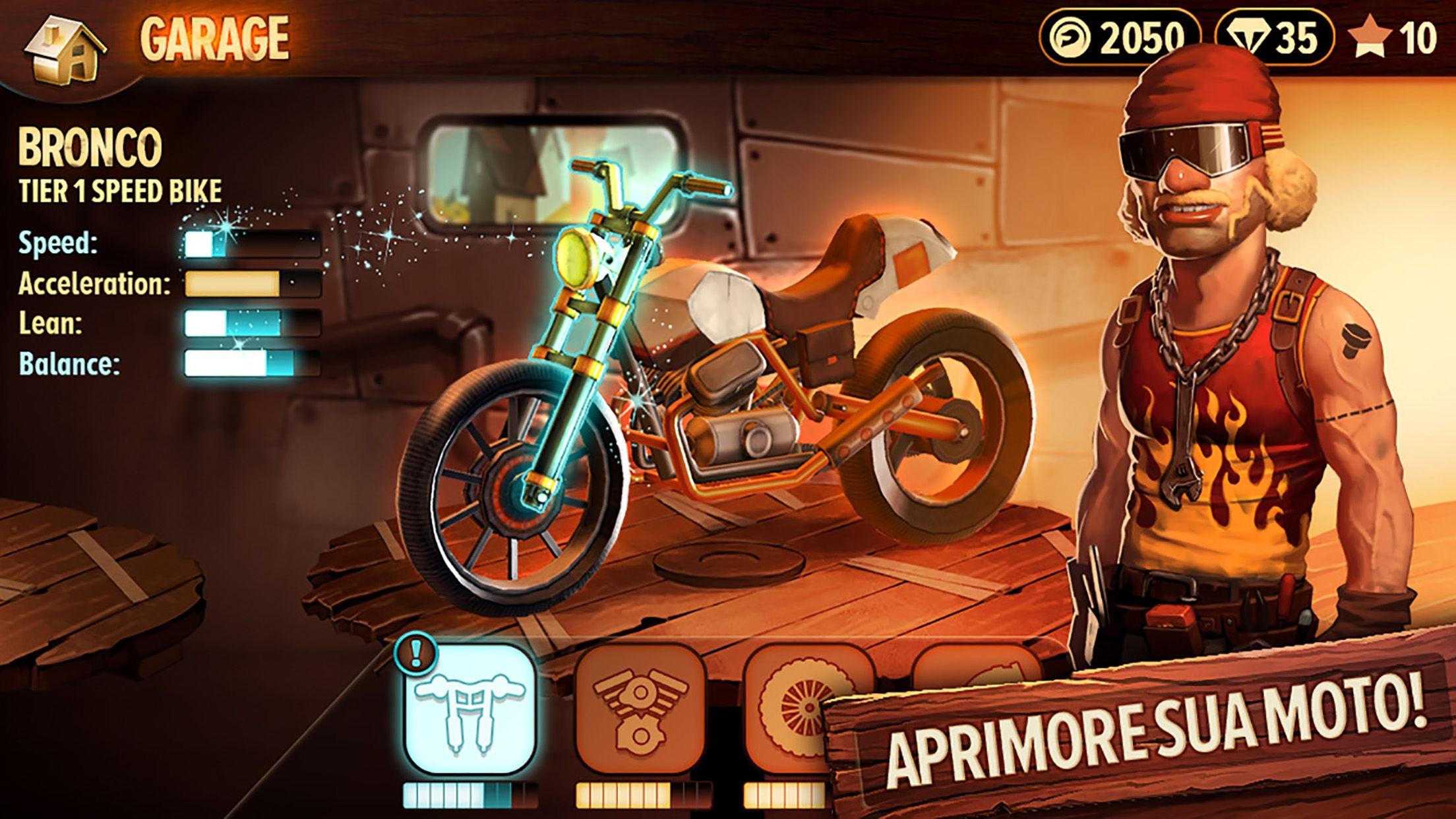 Screenshot do app Trials Frontier