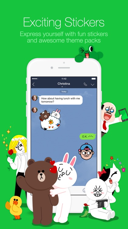 LINE screenshot-1