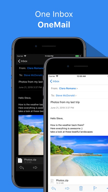 OneMail - Email by Nouvelware screenshot-5