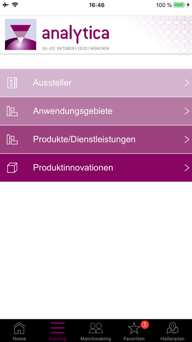 analytica 2020Screenshot von 3