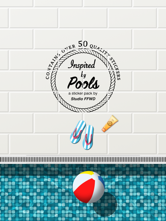 Poolside Stickers screenshot 6