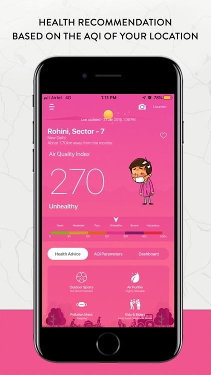 Air Quality Index (AQI India) screenshot-4