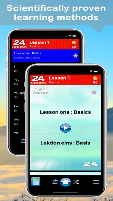 In 24 Hours Learn German screenshot two