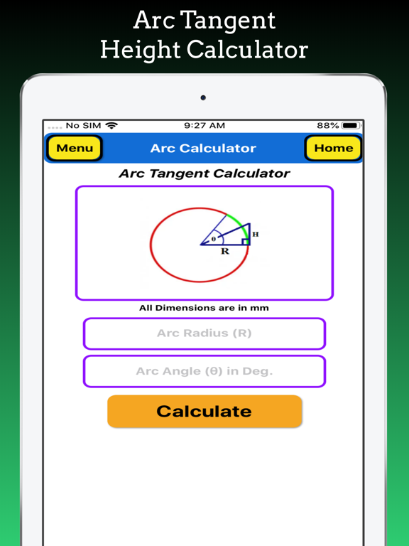 Arc Calculator Pro screenshot 11