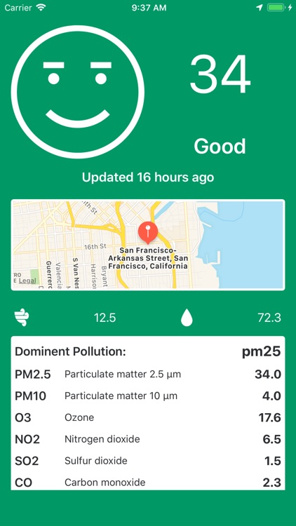 My AQI Air - PM2.5 / Pollution