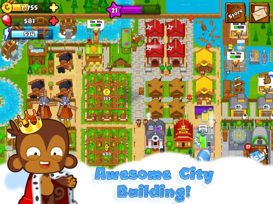 Bloons Monkey City iPad app afbeelding 1