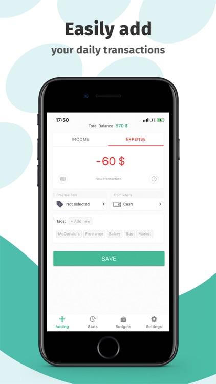 Finkee - financial tracker screenshot-4