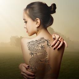 Dragon - Phoenix Tattoo on My