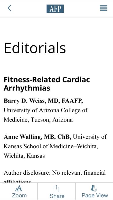 American Family Physician Screenshot