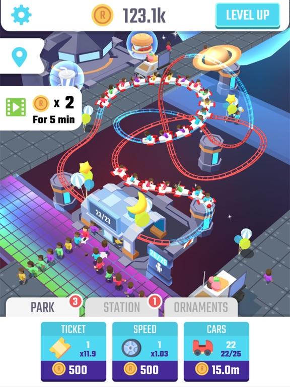 Скачать Idle Roller Coaster