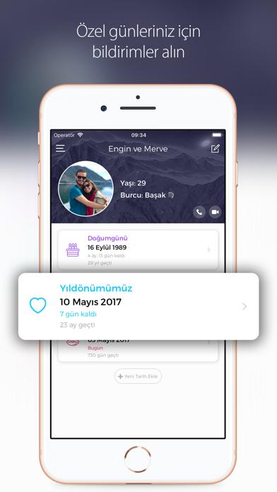 Screenshot for Better Half: Aşk Zaman Sayacı in Turkey App Store