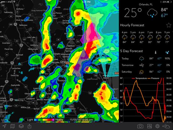 MyRadar Weather Radar-ipad-1