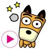TF-Dog Animation 3 Stickers