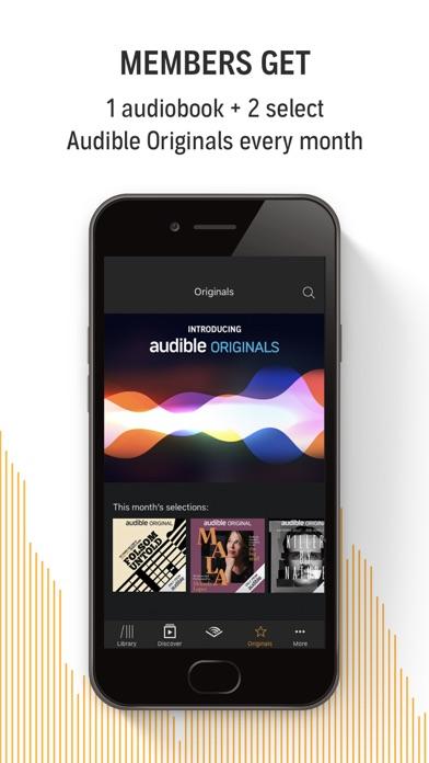 Audible audiobooks & originals Screenshot