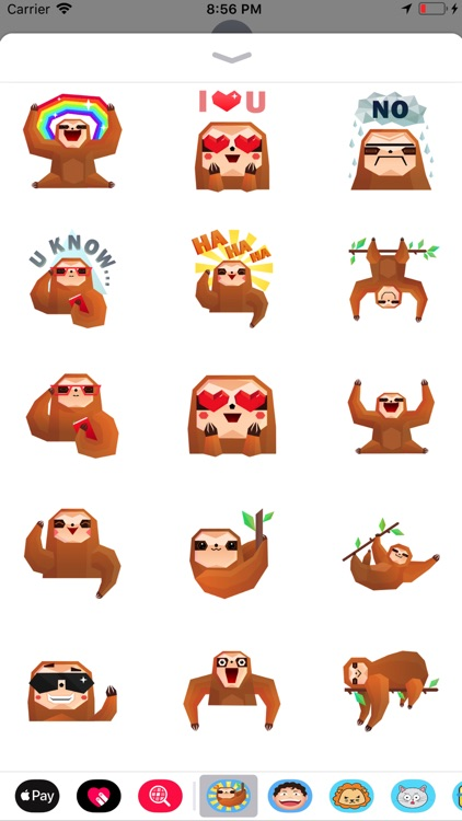 Crazy monkey emoji stickers