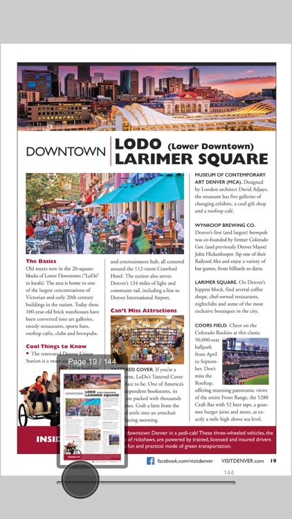 Denver Visitors Guide screenshot-3
