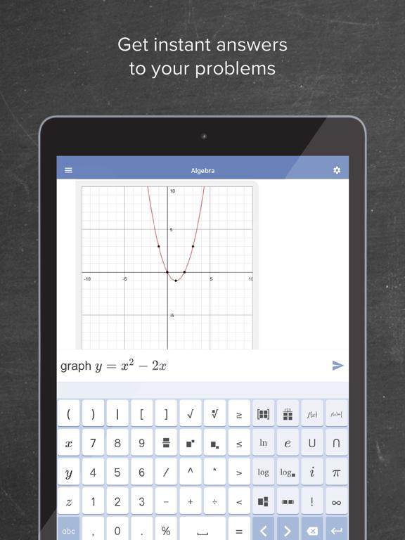 iPad Image of Mathway