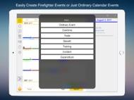 FireSync Shift Calendar ipad images