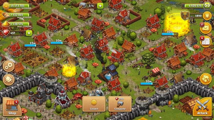 Throne Rush screenshot-4