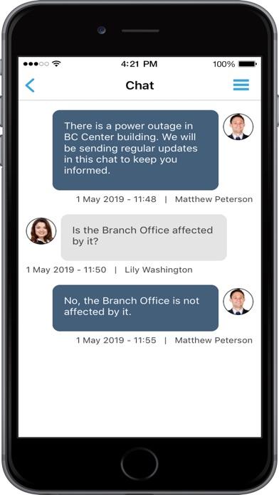 Screenshots for Crises Control