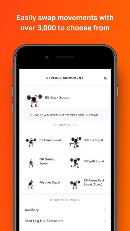 Volt: Gym & Home Workout Plans screenshot-5