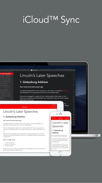 Strike Writer & Publisher screenshot-4