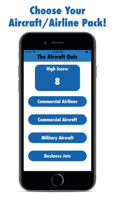 The Aircraft Quiz screenshot #1