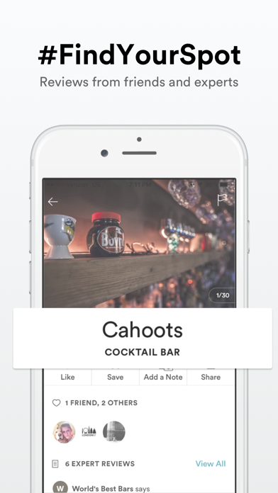 Spot — find, save, and share the best places to go screenshot