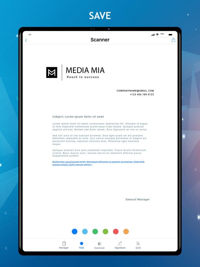 Scan Now - Máy quét và đọc PDF