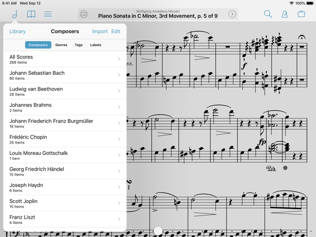 best app to download piano sheet music