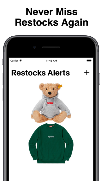 Restocks Alerts by SuperCop Screenshot