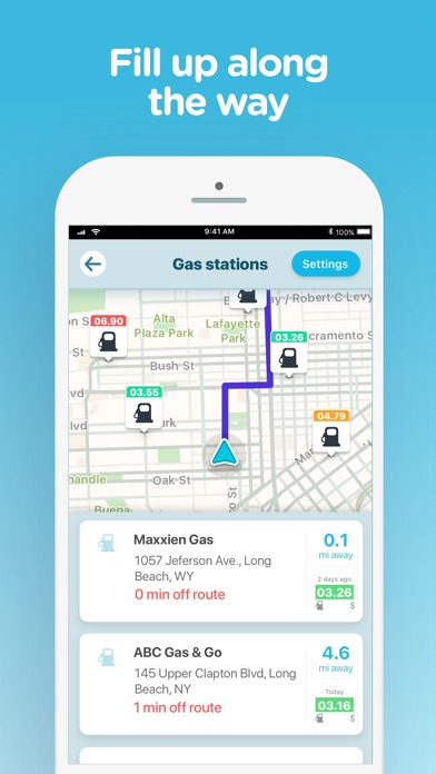 Screenshot for Waze Navigation & Live Traffic in South Africa App Store