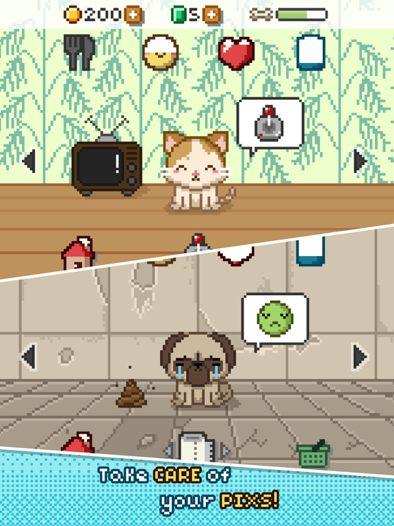Pix! - Virtual Pet Widget Game screenshot 7