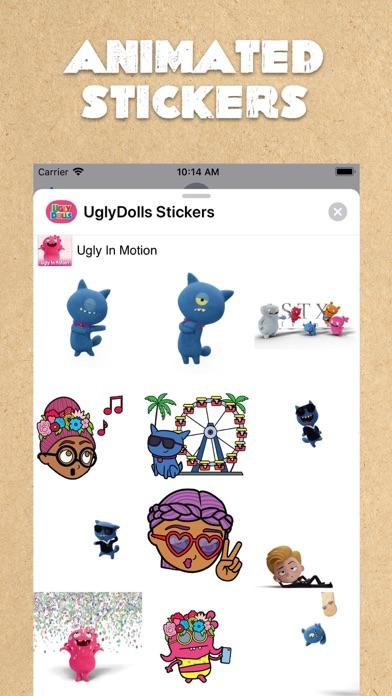 UglyDolls Stickersのおすすめ画像2