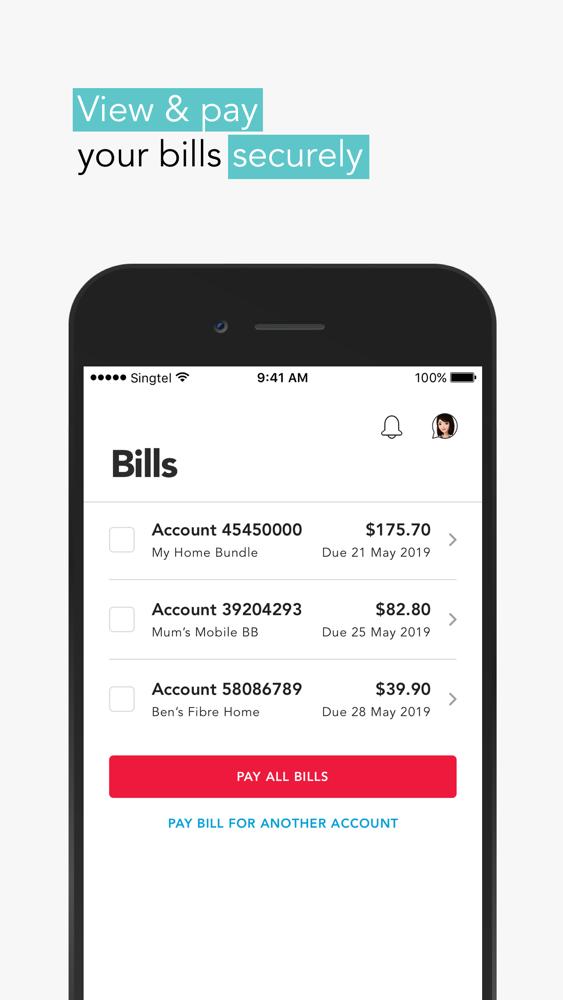 My Singtel app App for iPhone - Free Download My Singtel app for
