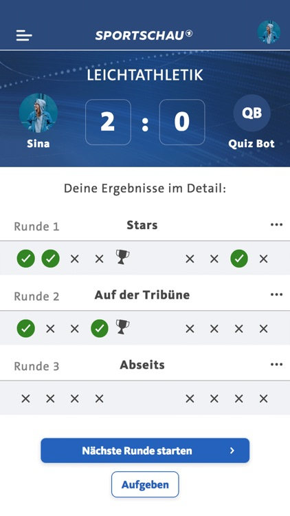 SPORTSCHAU Quiz screenshot-8