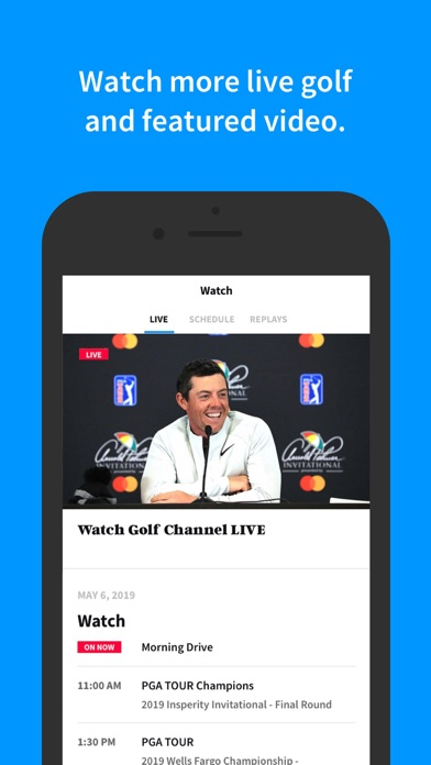 Screenshot for Golf Channel in United States App Store