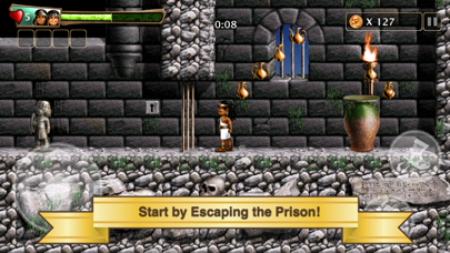 Screenshot from Babylonian Twins Platformer