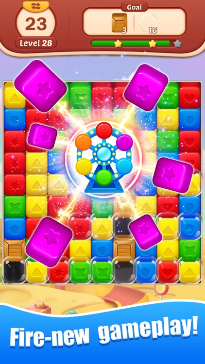 Toy Bomb: Pop Cube Blast Mania screenshot-3