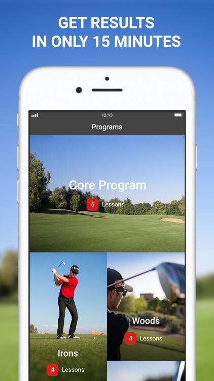 15 Minute Golf Coach Pro swing screenshot-0