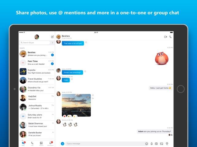 MATILDA: Love on skype