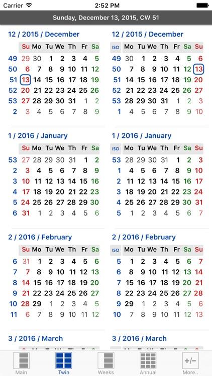 Flowing Calendar PRO