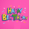 Rifa Tasfia - 100+ Happy Birthday Stickers  artwork