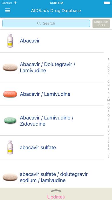 AIDSinfo HIV Drug Database