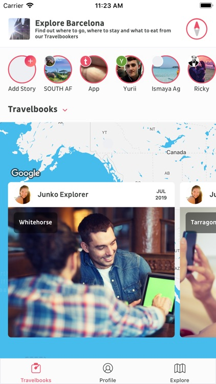 Travelbook: Let's Explore